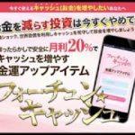 【三崎葵】フォーチュン☆キャッシュ 詐欺 返金 レビュー 評価 暴露 検証