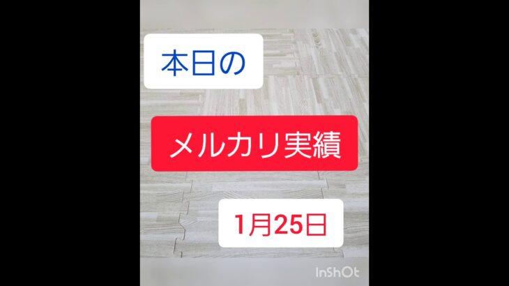 【古着転売】メルカリ副業パパの実績公開 ~1月25日~※利益公開