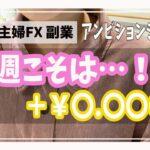 【主婦FX】第19回目!アンビションシステム週間報告☆