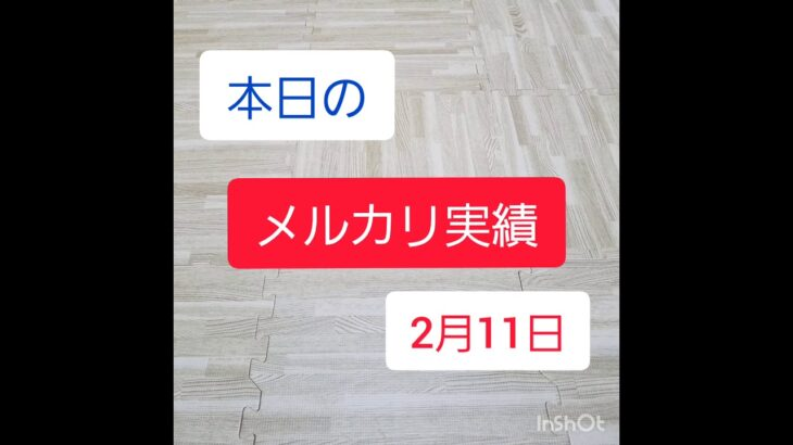 【古着転売】メルカリ副業パパの実績公開 2月11日~1日の売上点数新記録~