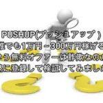 副業 PUSHUP(プッシュアップ)評価 詐欺 副業 暴露 返金 検証 レビュー